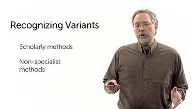 Determining Variants