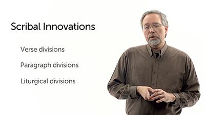 Scribal Innovations