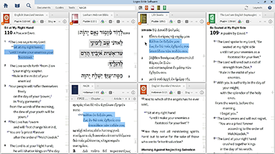 Comparing the Septuagint and the Hebrew Bible