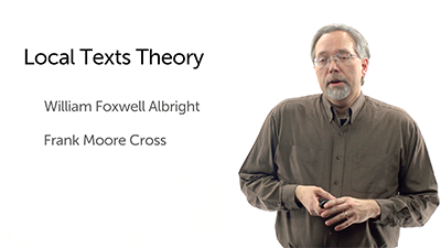 The Local Texts Theory