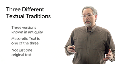 The Rise of Multiple Textual Traditions