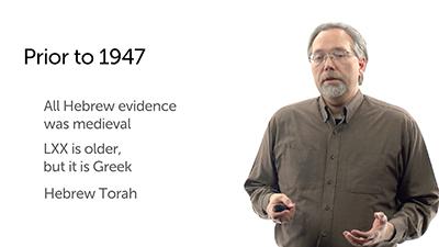 Manuscript Evidence Prior to 1947