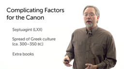 Complicating Factors for the Canon