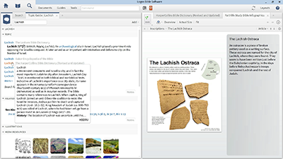 Searching Images for Information on Ancient Writing