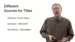 Titles of Old Testament Books