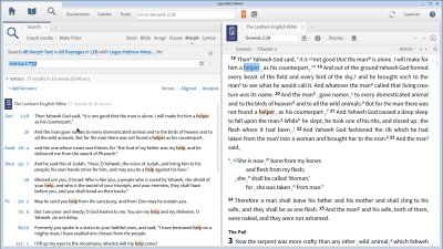 Categorizing Uses of 'Ezer with a Passage List