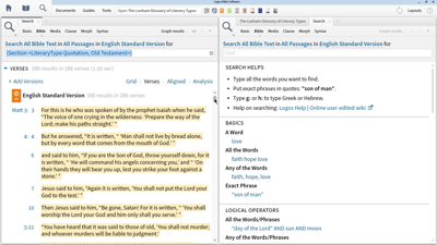 Finding Old Testament Quotes Spoken by Jesus