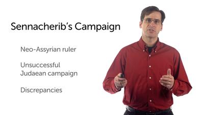 Hezekiah and Sennacherib's Campaign