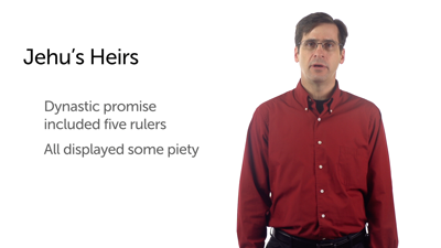 Israel: Jehu's Heirs