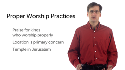 Worship Practices: Idolatry and Reform