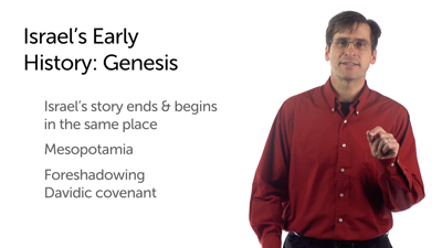 Israel's Early Story: Genesis and Exodus