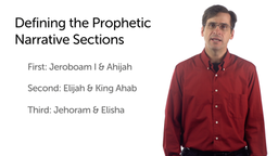 Prophets and Prophetic Narratives: Prophetic Narratives