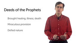 Prophets and Prophetic Narratives: Prophetic Deeds