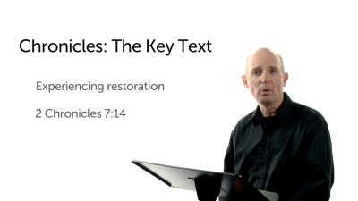The Key Text of Chronicles