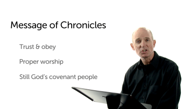 The Purpose of Chronicles