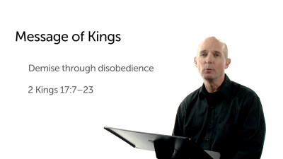 The Message of Kings: Demise through Disobedience