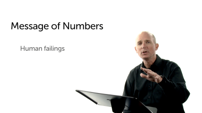 The Message of Human Failings in Numbers