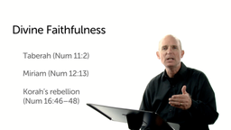 The Message of Divine Faithfulness in Numbers