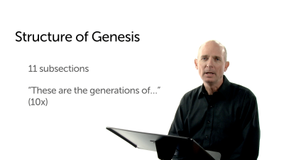 The Structure of Genesis