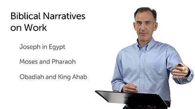 Work Narratives from Scripture