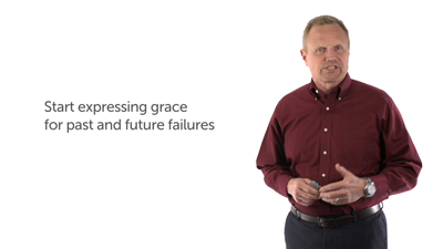 6. Start Expressing Grace and Forgiveness