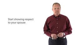 1. Start Showing Respect to Your Spouse