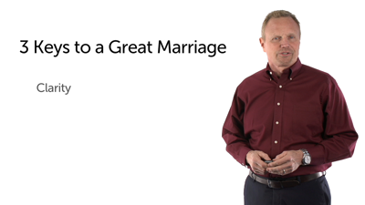 Three Elements of a Great Marriage