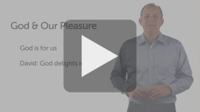 Pleasure: Getting Rid of an Antagonistic View of God