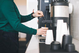 Barista Pouring Drip Coffee  image 2