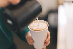 Barista Pouring Latte Art  image 5