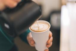 Barista Pouring Latte Art  image 2