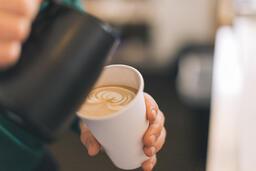 Barista Pouring Latte Art  image 3