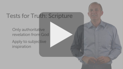 Tests for Truth: Scripture