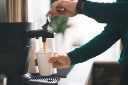 Barista Pouring Drip Coffee  image 4