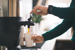 Barista Pouring Drip Coffee  image 3