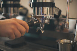 Barista Pulling Shots of Espresso  image 4