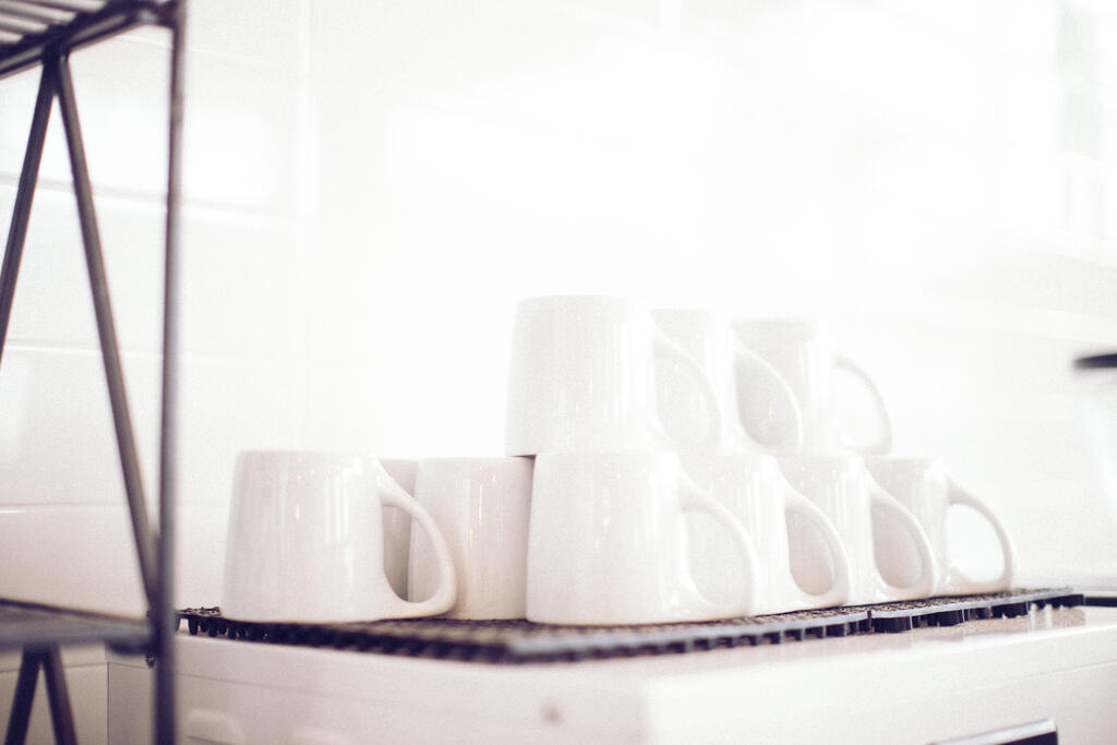Stacked Coffee Mugs large preview