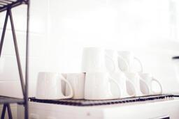 Stacked Coffee Mugs  image 1
