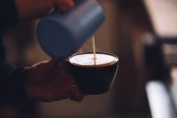 Barista Pouring Latte Art  image 1