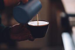 Barista Pouring Latte Art  image 4