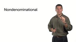 Nondenominational Endorsement
