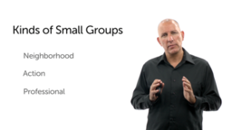 Small Groups and the Life of the Church