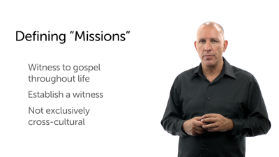 Mission and Missions