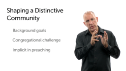 Pastoral Task in Shaping a Distinctive Community