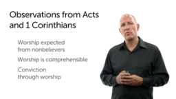 Worship: Comprehensible Enough to Be Understood