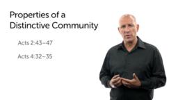 A Distinctive Community