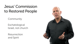 Jesus Commissions His Gathered People