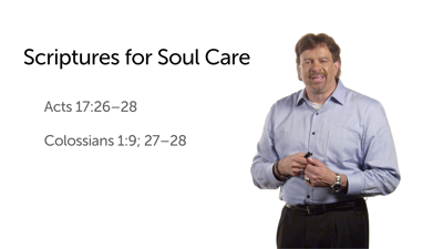 Bible Passages for Developing Soul Care