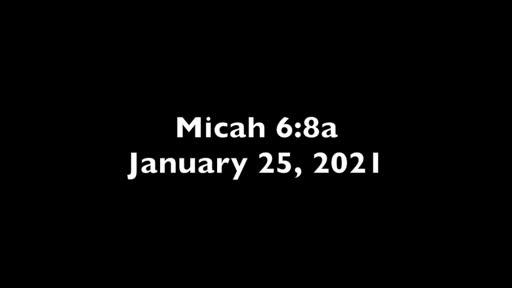 Micah 6.8A