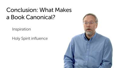 Concluding Thoughts on Canon